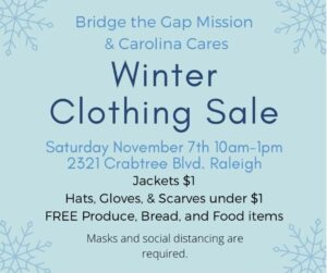 Winter Clothing Sale